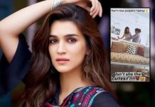 Kriti Sanon coaches mom on Punjabi 'hip hop' moves