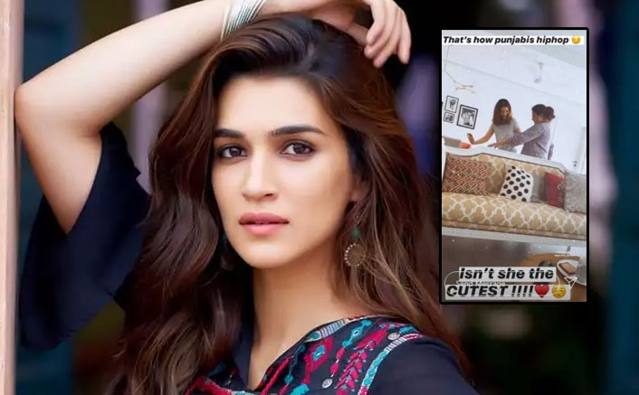 Kriti Sanon Teaching Her Mom Hip-Hop To 'London Thumakda' Is The Cutest Thing On Internet Today!