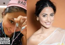 Hina Khan Does Eyebrows At Home & It's All The 'Aatmanirbhar' Tips You Need!