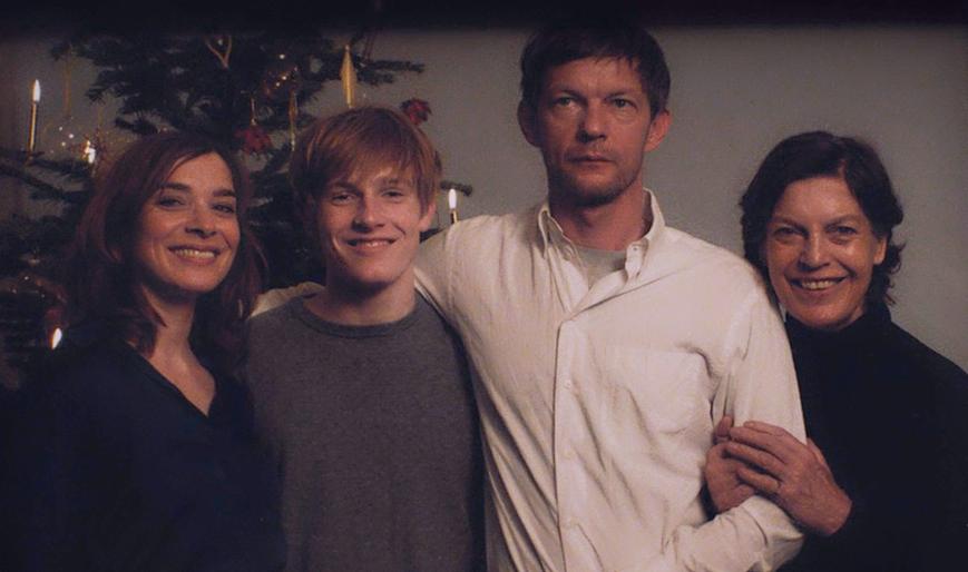 Michael & Family In Dark