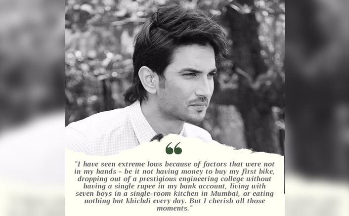 #MondayMotivation: When Sushant Singh Rajput Inspired Us To Chin-Up & Face Our Issues