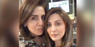 Neetu Kapoor twins with daughter Riddhima