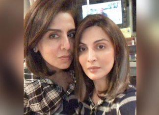 Neetu Kapoor twins with daughter Riddhima