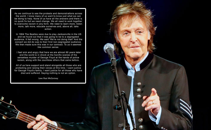 """Legendary Singer Paul McCartney Of The Beatles On RACISM: """"There Is No Quick Fix But..."""""""