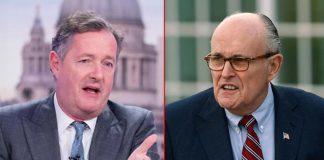 "Piers Morgan SLAMS Rudy Giuliani Over Donald Trump's Tweet: ""You Sound Completely Barking Mad"""