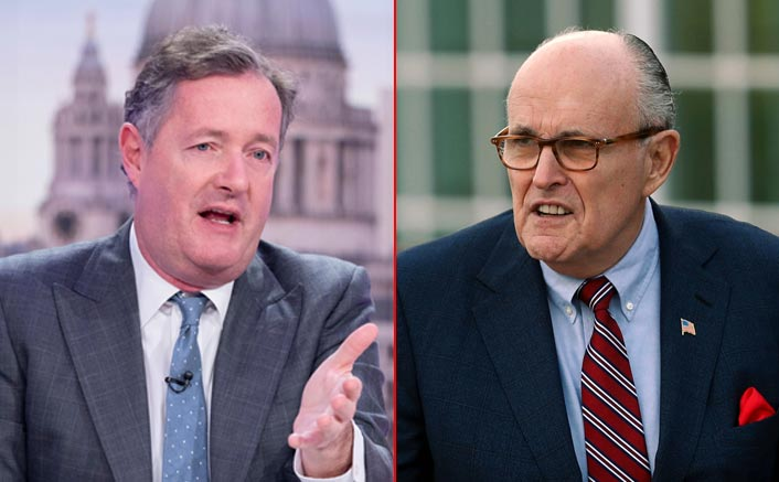 "Piers Morgan SLAMS Rudy Giuliani Over Donald Trump's Tweet: ""You Sound Completely Barking Mad"""