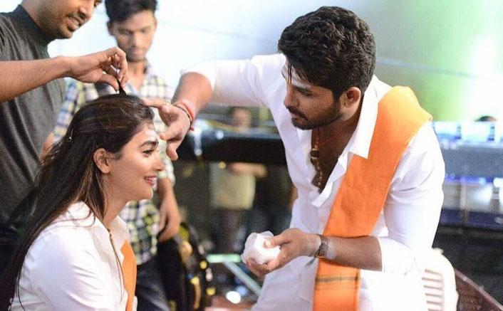 Pooja Hegde posts moments from 'Duvvada Jaggannadham' shoot