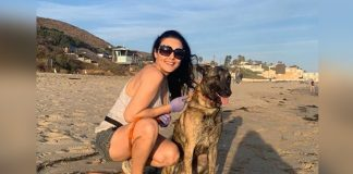 Preity Zinta hits the beach after 104 days with pet pup