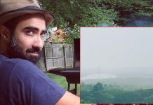 Ranvir Shorey Shares Pictures Of Cyclone Nisarga & His Best Companion On A Rainy Day