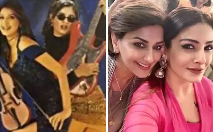 Raveena Tandon Reminisces The Time Spend With Sonali Bendre Sharing A Throwback Picture