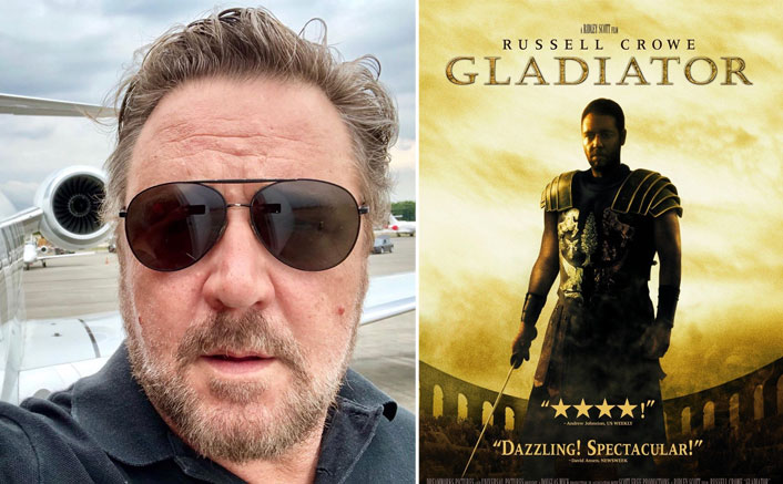 "Russell Crowe SLAMS Gladiator: ""The Script They Had Was SO BAD""(Pic credit: russellcrowe/Instagram)"