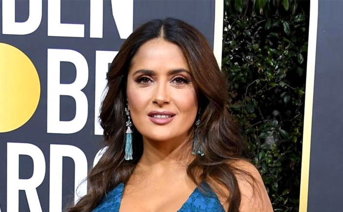 Salma Hayek Finds Her Inner Beauty With The Help Of Goddess Lakshmi