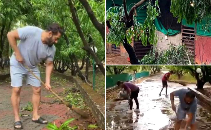 Salman Khan's Panvel farmhouse affected by cyclone Nisarga