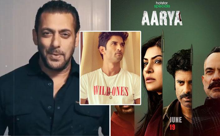 Salman Khan TROLLED For Promoting Sushmita Sen's Aarya, Dragged Into Sushant Singh Rajput Death Row