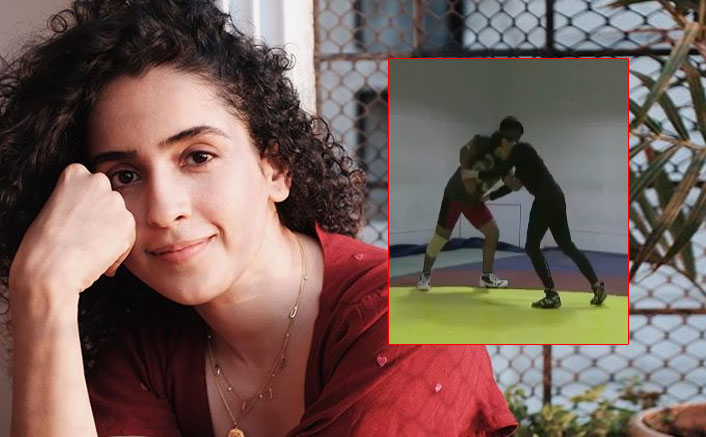 Sanya Malhotra Takes Us Back To Dangal Days With Her 'Zor Se' Throwback