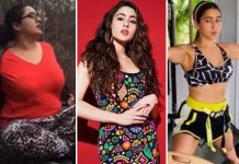 Sara Ali Khan shares her weight loss journey