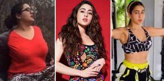 Sara Ali Khan shares her weight loss journey