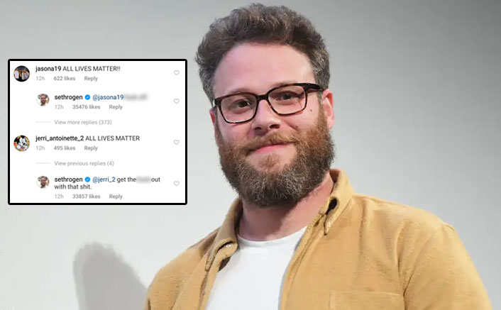 Seth Rogen Says F*CK OFF To His Followers Having Problem With His 'Black Lives Matter' Post, See Pics