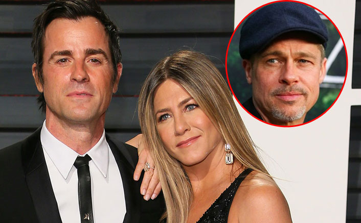 SHOCKING! Jennifer Aniston Sparked Reconciliation Rumours With Brad Pitt To Make Ex Justin Theroux Jealous?