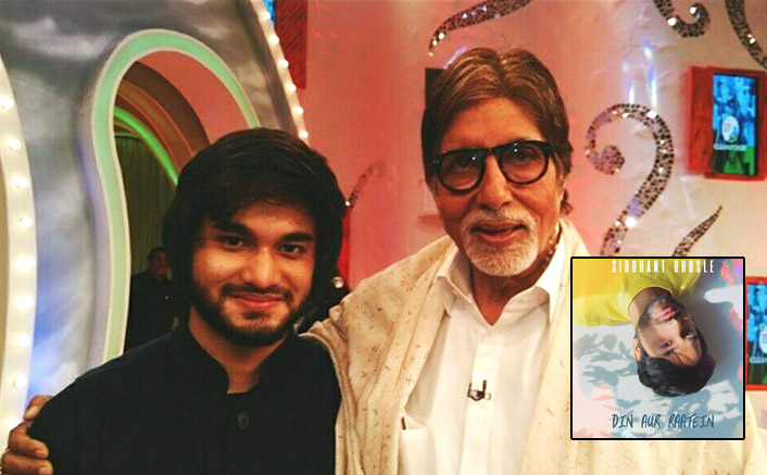 Siddhant Bhosle: Didn't expect Big B to share my song