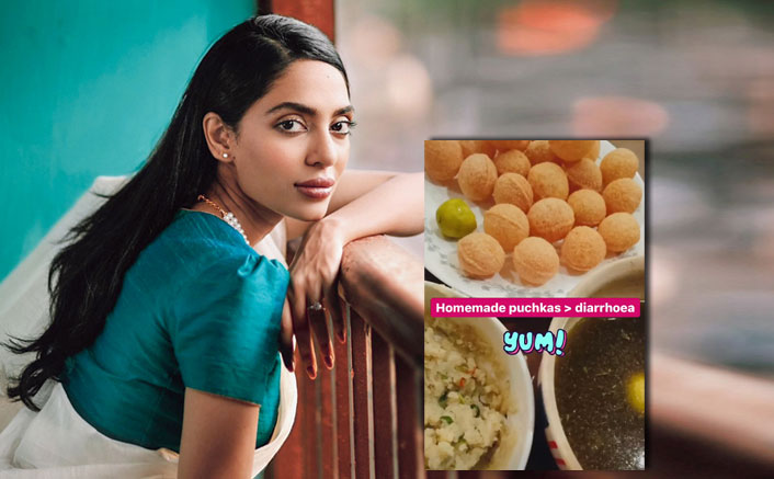 Sobhita Dhulipala Is Stuffing Herself With Homemade Puchkas Amid The Pandemic!