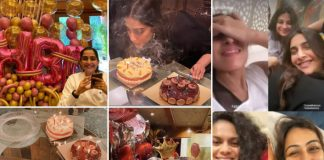 Sonam Kapoor Celebrates 35th Birthday With Anand Ahuja & Rhea Kapoor, Cuts 4 Tempting Cakes