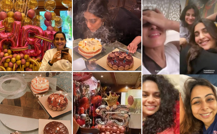 Sonam Kapoor Celebrates 35th Birthday With Anand Ahuja & Rhea Kapoor, Cuts 4 Tempting Cakes