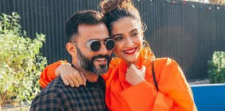 Sonam Kapoor thanks husband for sticking with her