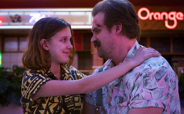 Stranger Things 4: David Harbour Says Upcoming Season Will Reveal The Secret Of Boxes Millie Bobby Brown AKA Eleven Found In Jim Hopper's Attic & We Can't Keep Calm!(Pic Credit: Still from Stranger Things 4 )