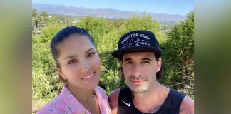 Sunny Leone shares sun-kissed picture with hubby