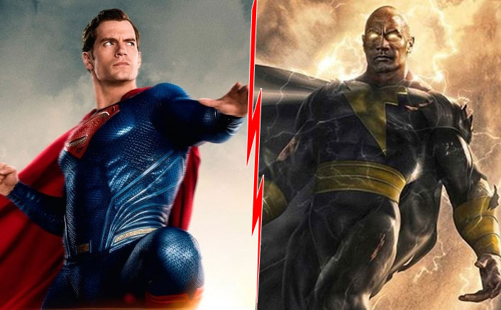 Superman Vs Black Adam: Fan Imagines Face-Off Between Henry Cavill & Dwayne Johnson & It's POWERFUL!