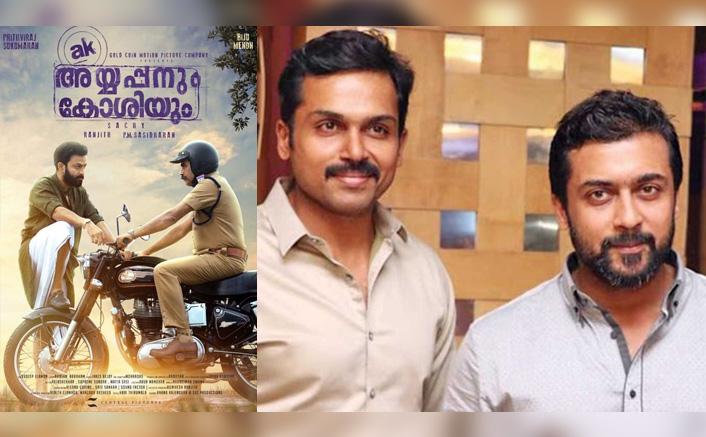 Suriya & Karthi To Team Up For Tamil Remake Of Prithviraj Sukumaran's Ayyappanum Koshiyum?