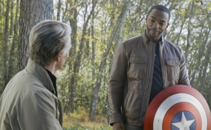 The Falcon And The Winter Soldier: Show's Crew Member Confirms Anthony Mackie Being The Black Captain America!(Pic Credit: Still from Avengers: Endgame )