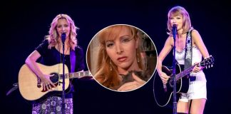 #ThrowbackThursday: When FRIENDS' 'Phoebe' Lisa Kudrow Performed Smelly Cat With Taylor Swift & Rocked The Stage Together!
