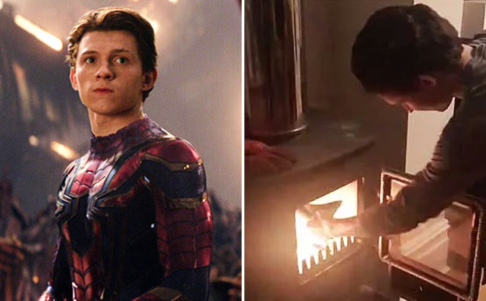 #ThrowbackThursday: When Tom Holland AKA Spider-Man Burned The Script Of Avengers: Infinity War, WATCH