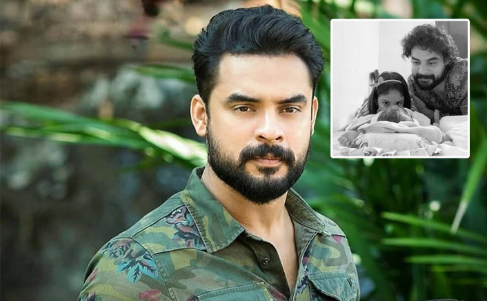 Tovino Thomas Can't Take His Eyes Off His Lil Munchkin, As He Names Him Tahaan Tovino