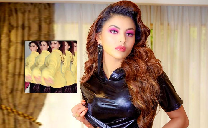 Urvashi switches on her 'Beyonce mode'