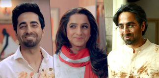 Versatile Ayushmann does it again - plays father, son, and his son's wife in an ad going viral!