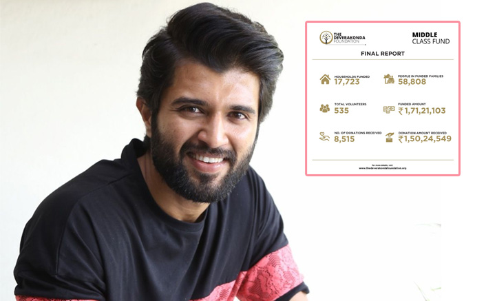 'Arjun Reddy' Vijay Deverakonda Helps 17000+ Middle Class Families With Essentials
