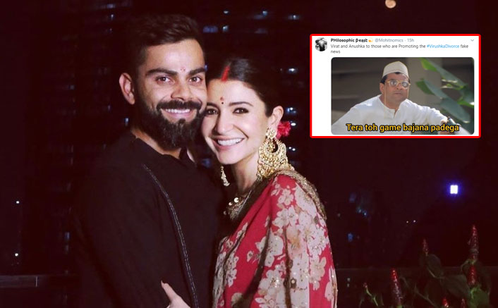 Anushka Sharma & Virat Kohli Are Divorcing? #VirushkaDivorce Leaves Everyone Confused