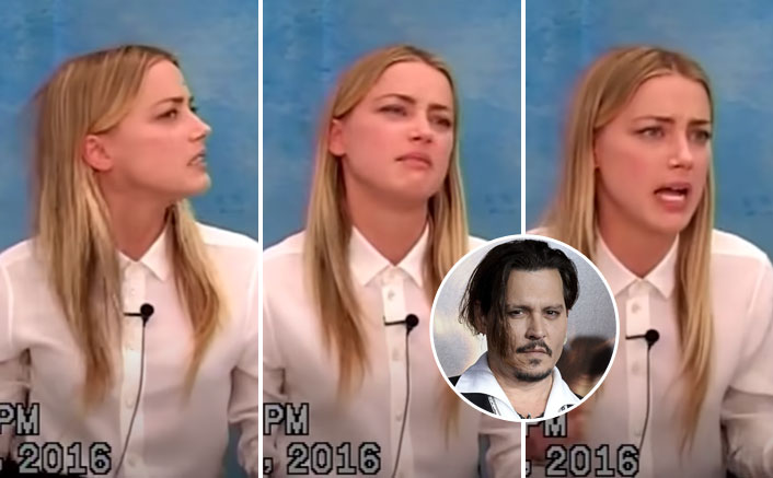 When Amber Heard CRIED Narrating Johnny Depp's Domestic Abuse Story In Front Of The Whole Wide World - WATCH VIDEO