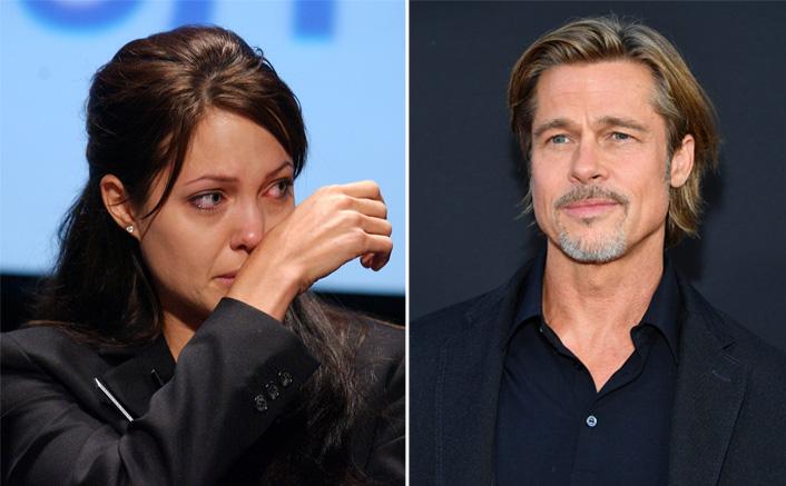 When Angelina Jolie Secretly 'Cried Under Shower' Post Brad Pitt Split!