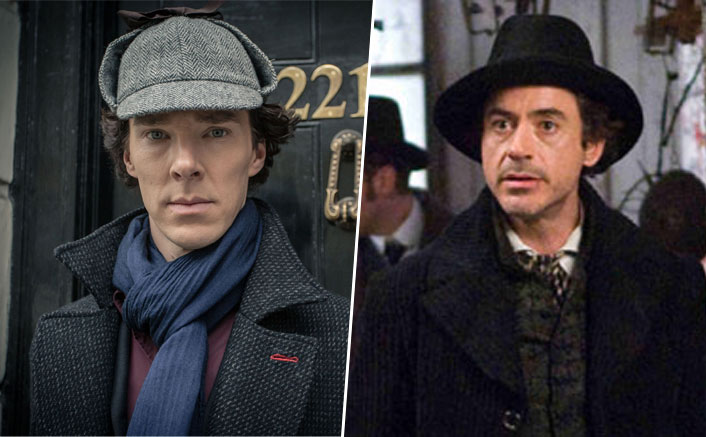When Benedict Cumberbatch's Sherlock Series Creator Said Robert Downey Jr's Accent As The Detective Is Sh*t!(Pic Credit: Stills from Sherlock series and Sherlock Holmes movie)