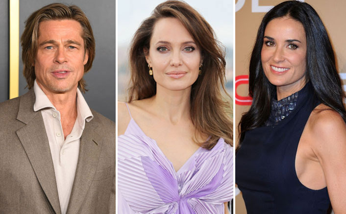 When Brad Pitt Had 'S*xual Electric Encounters' At Yoga With Demi Moore Post Angelina Jolie Divorce!