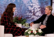 When Ellen DeGeneres & Dakota Johnson Gave Each Other A Cold Shoulder During Live Interview