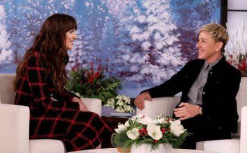 When Ellen DeGeneres & Dakota Johnson Gave Each Other A Cold Shoulder During Live Interview