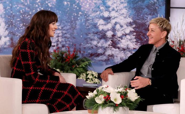 When Ellen DeGeneres & Dakota Johnson Gave Each Other A Cold Shoulder During Live Interview!