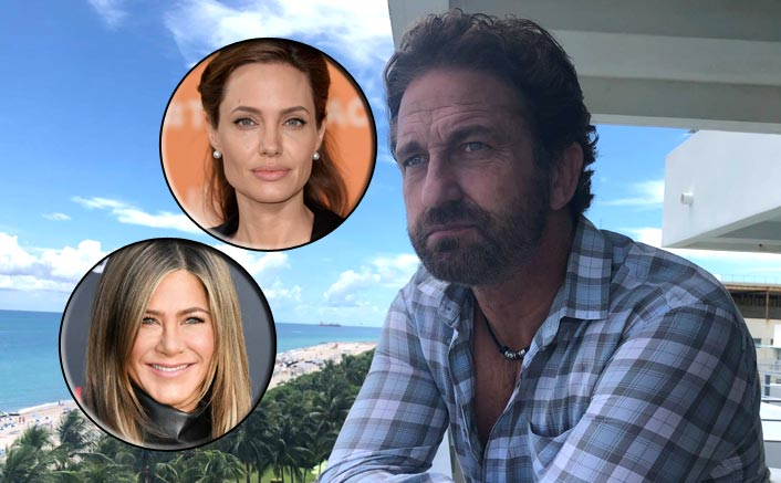 When Gerard Butler Revealed Who Is A Better Kisser Among Jennifer Aniston & Angelina Jolie & We Aren't Surprised