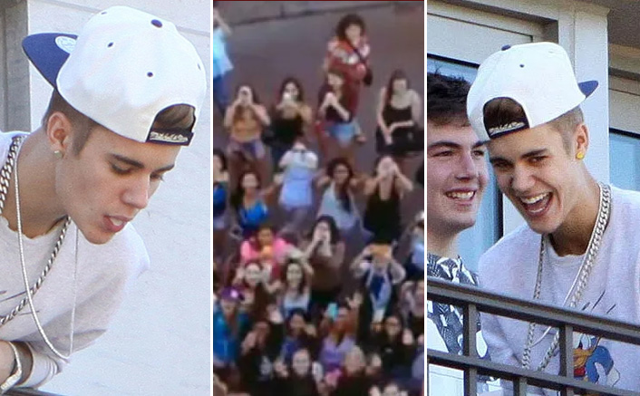 When Justin Bieber Threw His Spit On Fans & Laughed About It Publicly, WATCH – PAST TENSE(D)