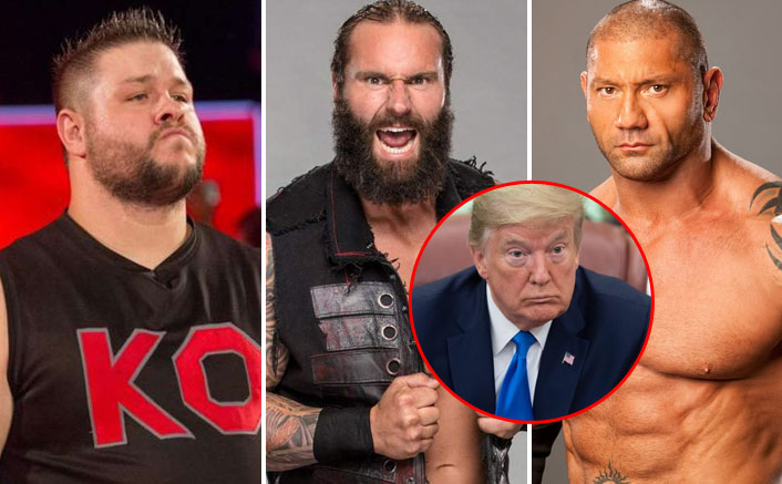 "WWE: Kevin Owens Tags Jaxson Ryker's Tweet Supporting Donald Trump As ""Fu*king Pathetic""; Sami Zayn, Batista & Others REACT Too"